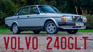 Volvo 240GLT goes for a drive