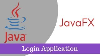 Login Application in JavaFX