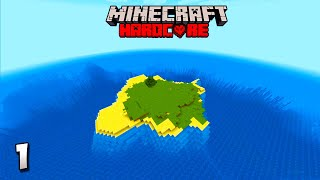 Minecraft Hardcore Survival Let's Play - Survival Island! Minecraft 1.16 Lets Play!