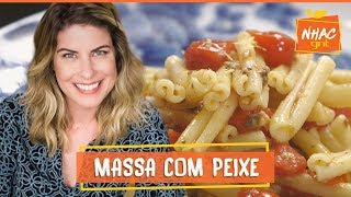 Macarrão Com Sardinha Receita é Simples E Fácil De Fazer  Rita Lobo  Cozinha Prática