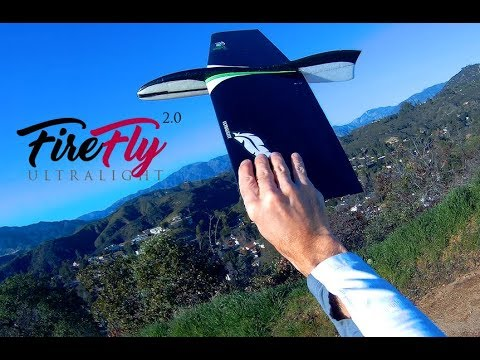 FireFly 2 0 Ultralight Turbulent Flight High Rates | RC Glider