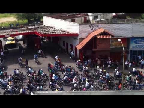 Entierro de Mototaxi en Guarenas