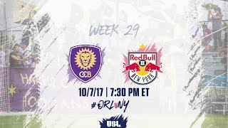Orlando City II vs New York Red Bulls USL full match