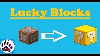 Lucky Blocks / Bloque de Comandos / Minecraft