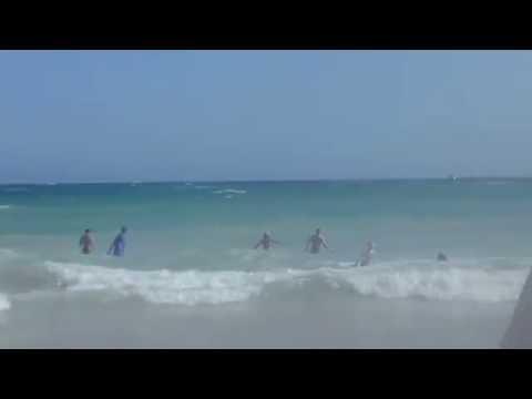 Шторм в Айя-Напе на Кипре у Melissi Beach 28 июня 2016