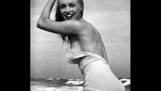 Marilyn Monroe at the beach - California soul by Marlena Shaw