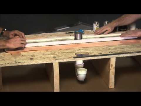 Kerdi Line Drain Installation Youtube