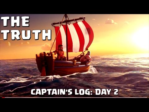 Thumbnail: Clash of Clans: Captain's Log Day 2 - THE TRUTH! (Parody)