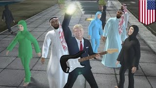 Donald Trump 2016 election parody song: build the wall, ban the Muslims - TomoNews