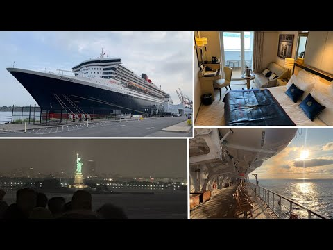 London to New York by Cunard's Queen Mary 2