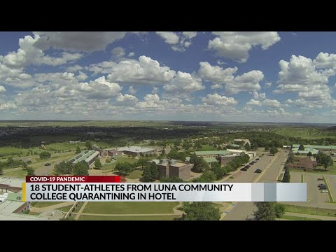 Out-of-state student-athletes at Luna Community College find new housing during pandemic