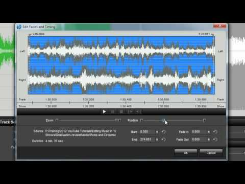 How To Edit Music in Your ProShow Slideshows