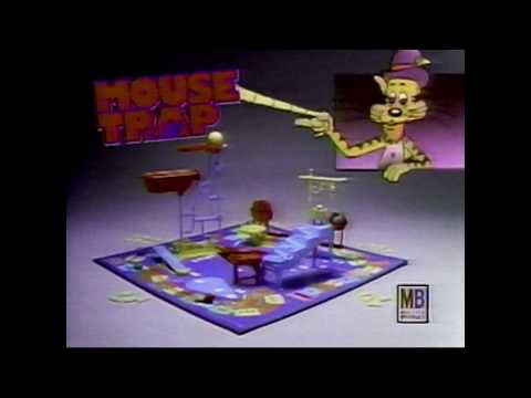 Mouse Trap Board Game Commercial (1992)