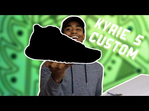 UNBOXING CUSTOM KYRIE 5 FROM NIKE ID!!