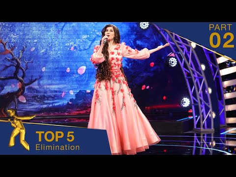 مرحلۀ اعلان نتایج ۵ بهترین - فصل پانزدهم ستاره افغان / Top 5 Elimination - Afghan Star S15 - Part 02