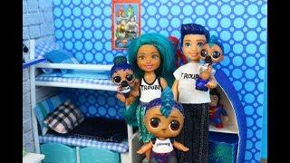 Куклы лол. СЕМЕЙКА ЛОЛ . Ура родители .  Мультик про куклы LOL SURPRISE MC Family