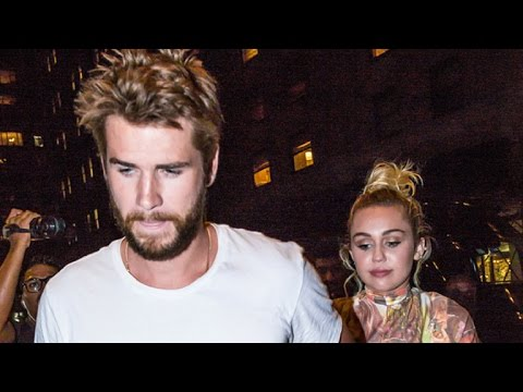 Miley Cyrus Holds Hands With Liam Hemsworth, Addresses Her Vow To Never Walk Red Carpet