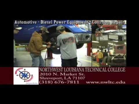 Northwest Louisiana Technical College AUTOMOTIVE DIESEL COLLISION