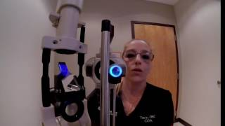 First Person Routine Eye Exam