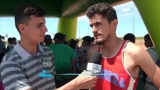 Atletismo Entrevista com atletas