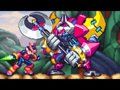 Mega Man Zero 4 (GBA) All Bosses (No Damage)