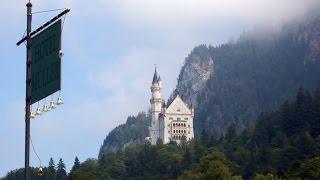 Замки Нойшванштайн и Хоэншвангау(Замок Нойшванштайн — романтический замок баварского короля Людвига II. Замок Хо́эншвангау или Гогеншванга..., 2015-11-09T06:02:05.000Z)