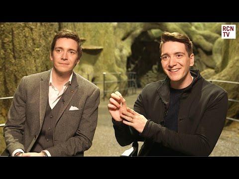 Harry Potter James & Oliver Phelps Interview - Weasley Twins Dan & Rupert Fun