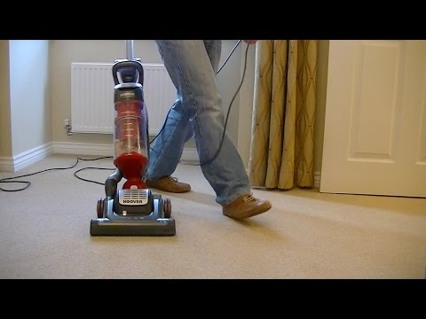 Doing The Hoover Manoeuvre With The Globe Vacuum Cleaner
