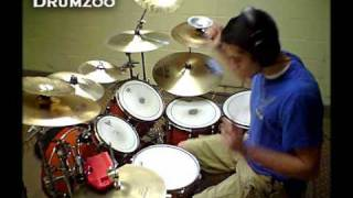 """Who Dat Girl""- Flo Rida -*DRUM COVER* / Remix ft. Akon"