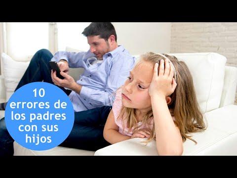10 errores de los padres con la educaci�n de los hijos