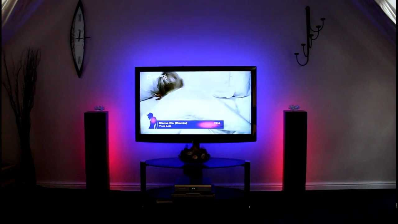 & 5m RGB tape kit for Home Cinema lighting - YouTube azcodes.com