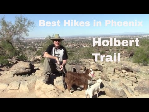 Holbert Trail Hike - South Mountain Park - Best Hikes in Phoenix Series
