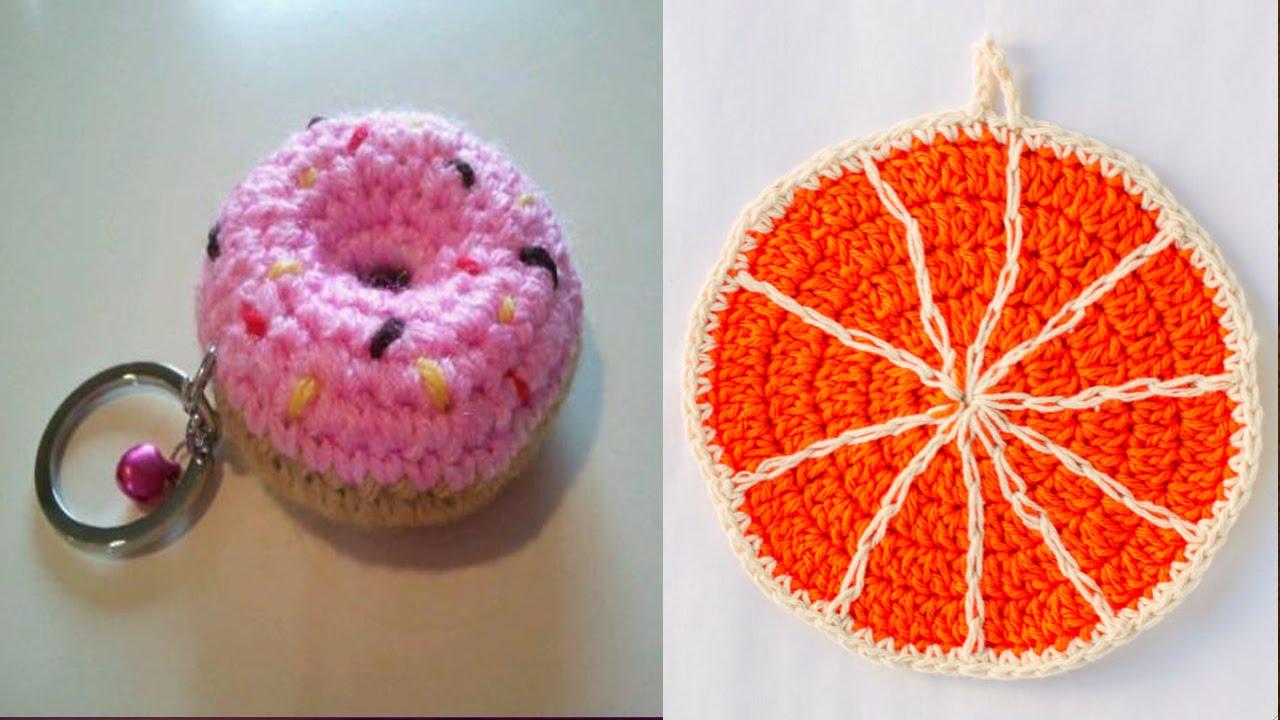 llaveros y adornos tejidos en crochet ganchillo imagenes