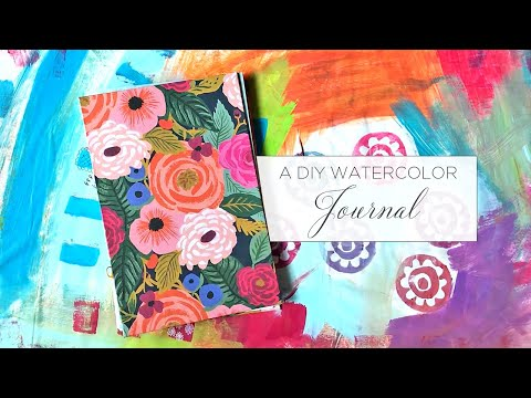 Elevenses with MZ Ep 25 - A DIY Watercolor Journal