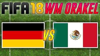Deutschland vs. Mexiko 🎮 FIFA WM 2018 Orakel