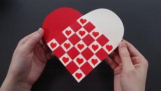 Baixar Herz basteln mit Papier ❤ Herzen flechten als DIY Geschenk - Bastelideen
