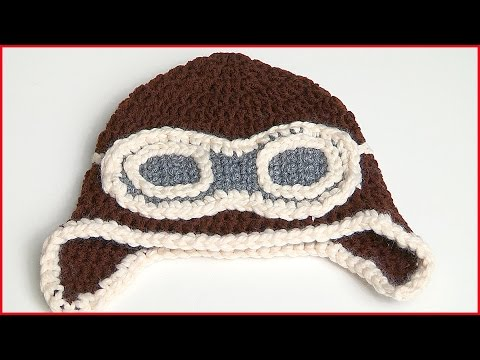 How to Crochet a Aviator Hat