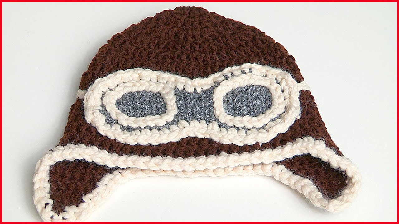 9122f7b97 How to Crochet a Aviator Hat