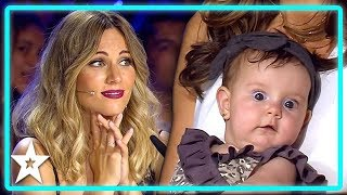 Mothers Dancing With Their Babies on Spain's Got Talent | Kids Got Talent