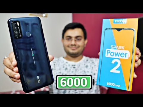 Tecno Spark Power 2 UNBOXING and REVIEW 6000 mAh 18W Fast Charging⚡️ Best in Budget क़तई ज़हर