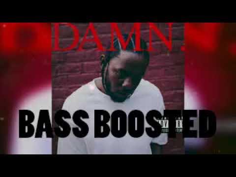 Kendrick Lamar - love me (BASS BOOSTED)