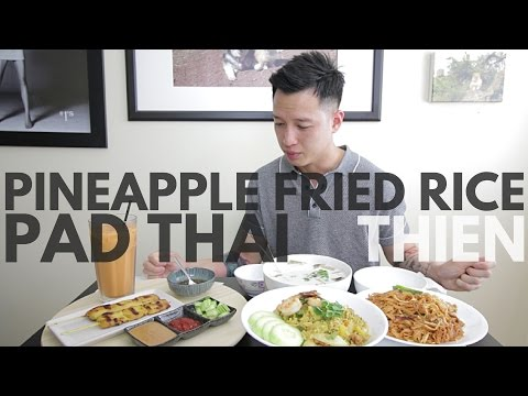 [MUK] bang: Pad Thai Noodles and Pineapple Fried Rice with [THIEN]