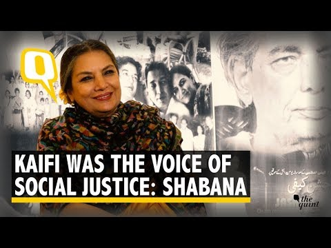 We Celebrate Progressive Writers by Celebrating Kaifi: Shabana Azmi | The Quint Mp3