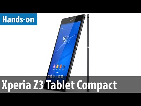 Sony Xperia Z3 Tablet Compact - Hands-on / Erster Test | deutsch / german