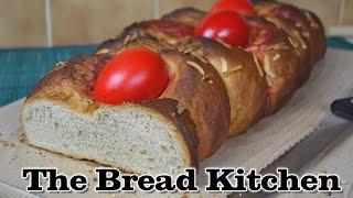 Tsoureki Recipe (greek Easter Bread) In The Bread Kitchen
