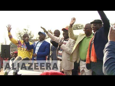 Zimbabwe opposition unites to challenge Mugabe
