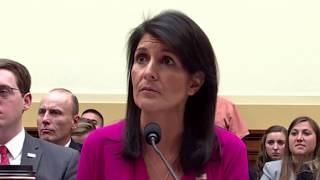 Nikki Haley gets Slam for supporting Trump