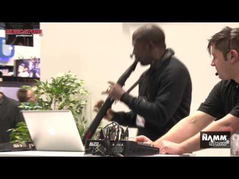 NAMM 2014 - AKAI EWI 5000 Sound Demo Live
