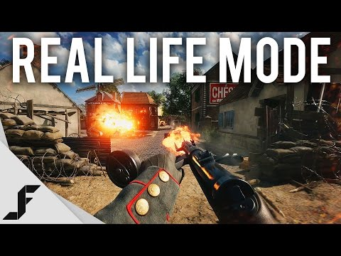 BATTLEFIELD 1 REAL LIFE MODE - 4K 60FPS