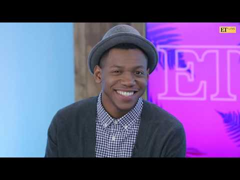 ET  with The Voice Winner Chris Blue: Does He & Manager Alicia Keys Have A Duet In The Works?